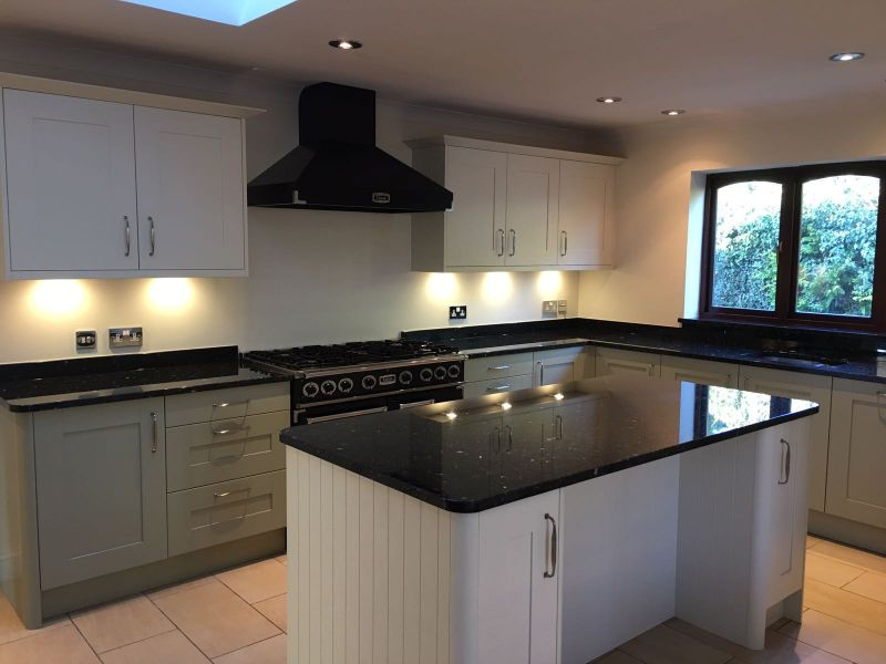 Emerald Pearl worktops fitted in midsomer  Norton Gallery