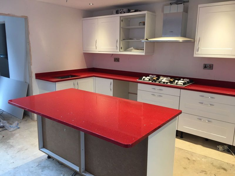Rosso Stelline Red fitted in Gloucester  Gallery