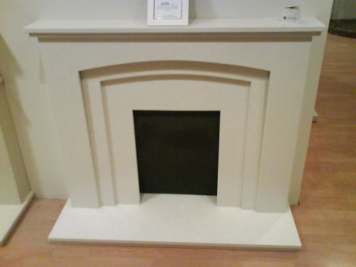 Murano engineered marble surround Gallery