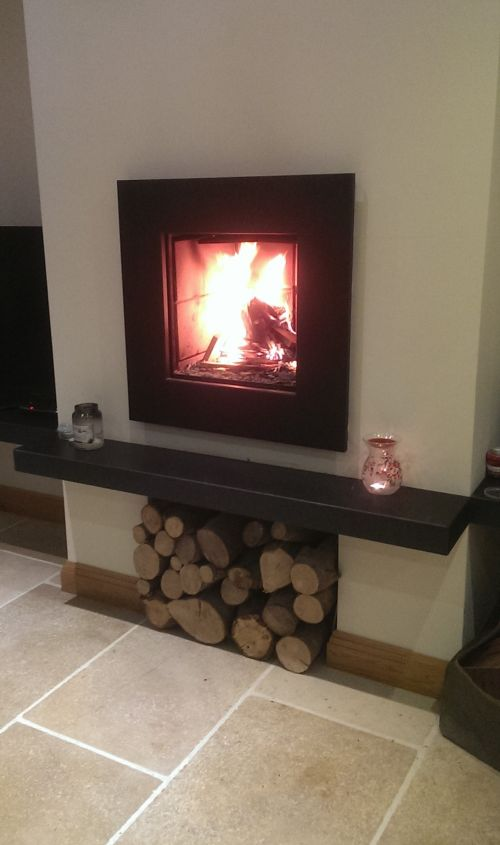 Hearth for Log burner Gallery