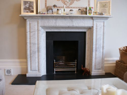 Bespoke Carrara Fire Surround Gallery