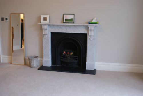Victorian Carrara Marble Fireplace Gallery