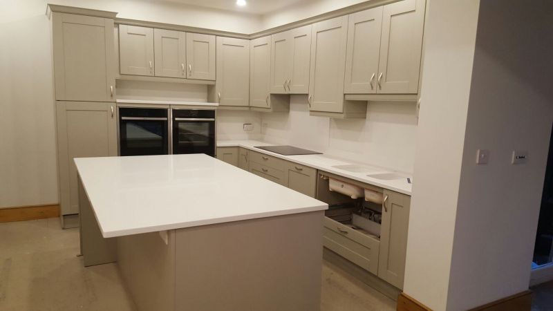 White Quartz worktops  Gallery